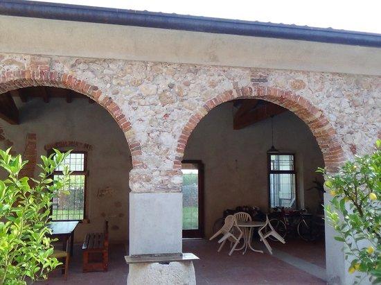 Agriturismo Palazzo: Courtyard