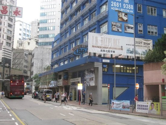 Hotel LBP: View from street
