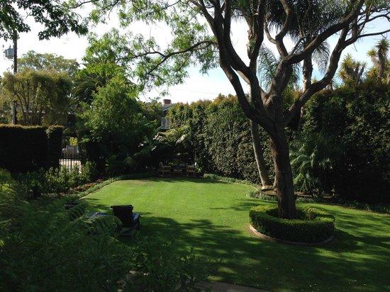 Simpson House Inn: Garden