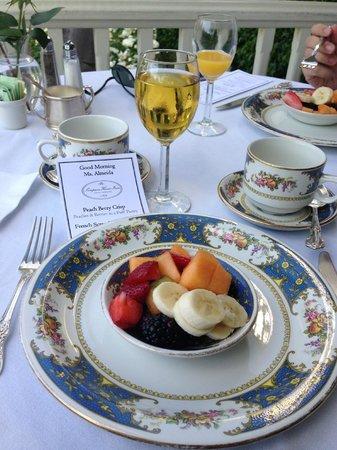 Simpson House Inn: Breakfast