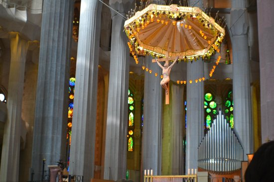 Sagrada Família : Cristo (altar)