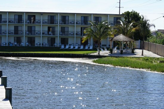 The Bay Resort: view from the dock in the bay