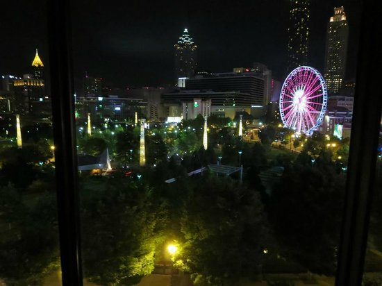 Omni Atlanta Hotel at CNN Center: View from the room