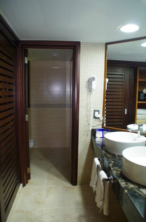 Bavaro Princess All Suites Resort, Spa & Casino: душевая