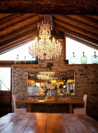 Le Chalet du Rassel : Dinning room