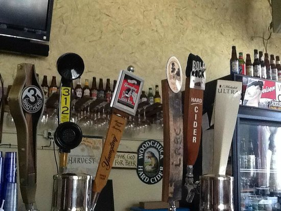 Carmella's: Bunch'a Beer on tap!