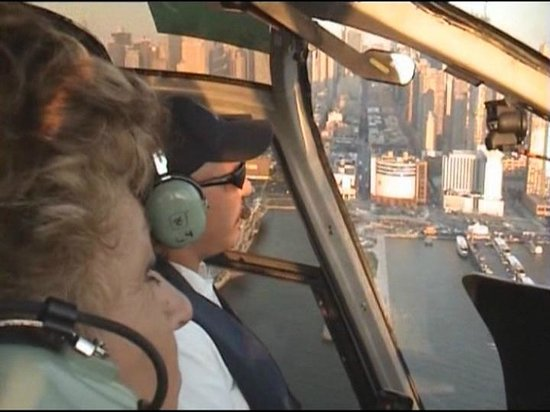 New York Helicopter: In cabina