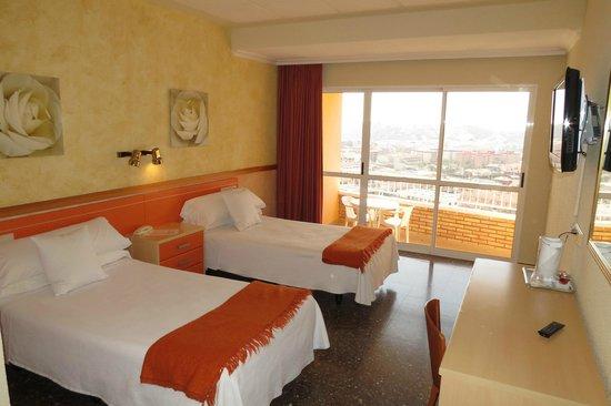Hotel La Cumbre: Habitacion Twin