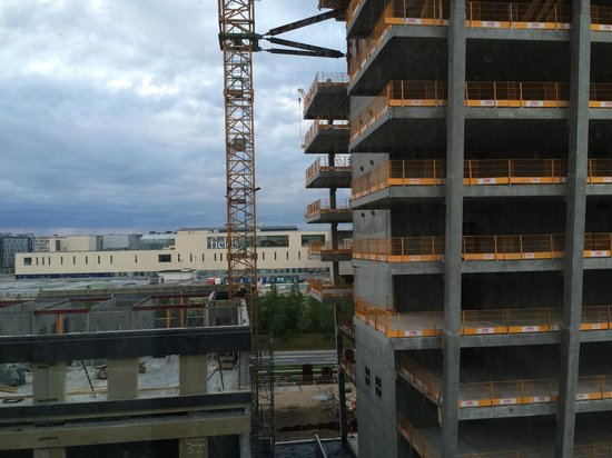 Crowne Plaza Copenhagen Towers : Ausblick aus Zimmer 607 (Executive Doppelzimmer)