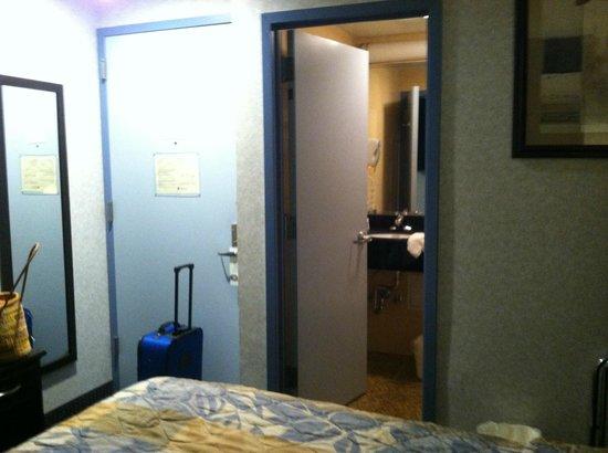 كواليتي إن فلورال بارك: Small Room