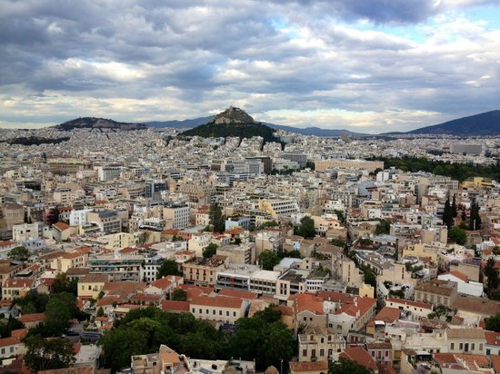 Acropole : Views of Athens from Acropolis