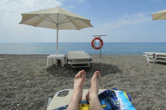 Ostria Resort & Spa : un bout de plage
