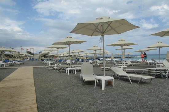 Ostria Resort & Spa : plage