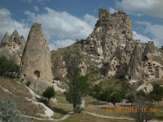 Uchisar Castle : view from afar