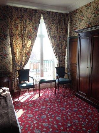 Hôtel Barrière Le Royal Deauville : Our room