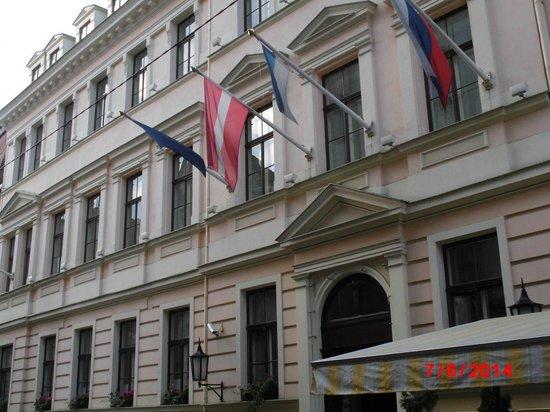 Grand Palace Hotel: von aussen
