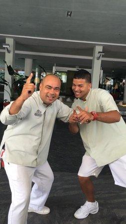 La Concha Renaissance San Juan Resort: Felix and Roberto