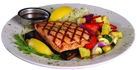 Seasons Public House: Enjoy one of our favorites - Cedar Plank Salmon