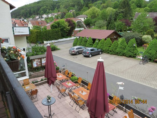Landhotel Fasanenhof: View from Balcony