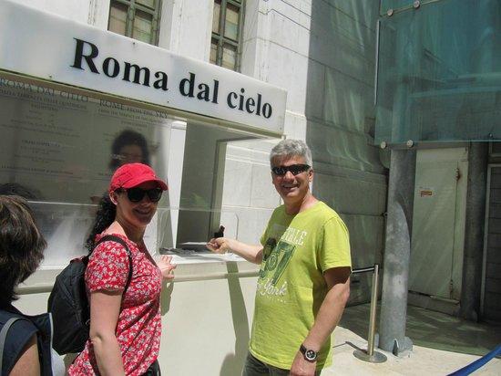 Roma dal Cielo   Terrazza delle Quadrighe: Roma dal Cielo Terrazza delle Quadrighe