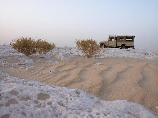 Adrere Amellal: Desert Ecolodge: le désert