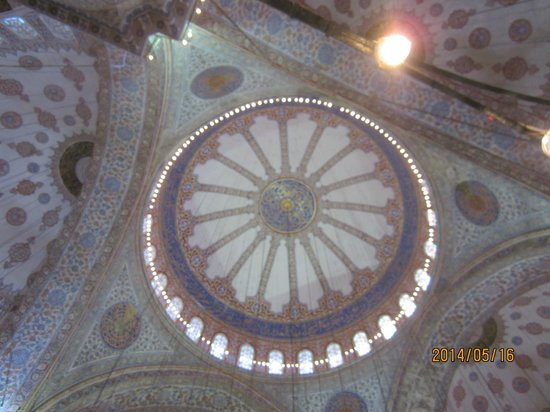 Historic Areas of Istanbul: Dome of Blue Mosque