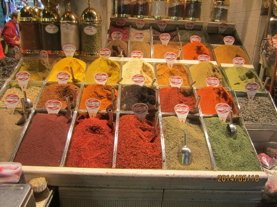Historic Areas of Istanbul: Spice Bazaar
