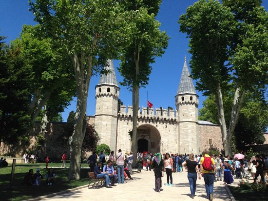 Historic Areas of Istanbul: Topkapi Palace