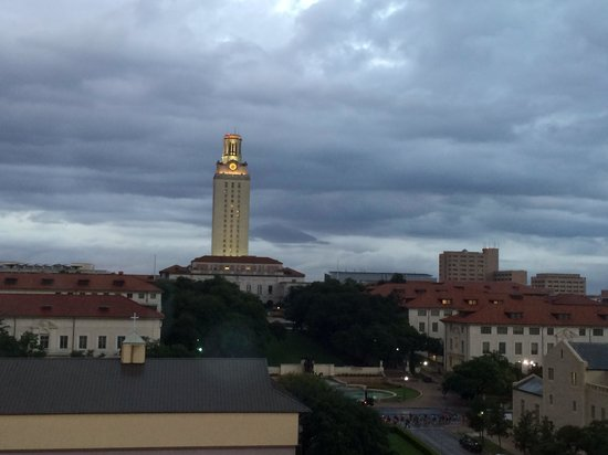 AT&T Executive Education and Conference Center: Balcony view of the UT Tower