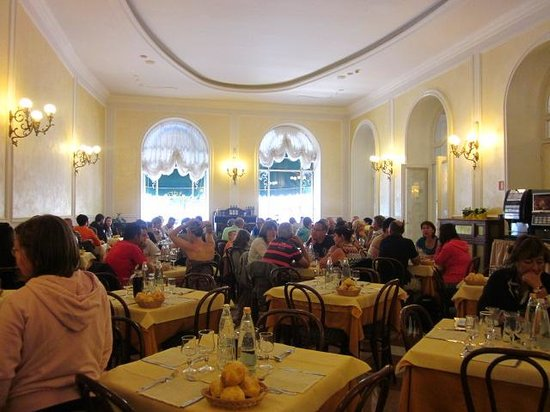 Hotel Excelsior Splendide: il salone da pranzo