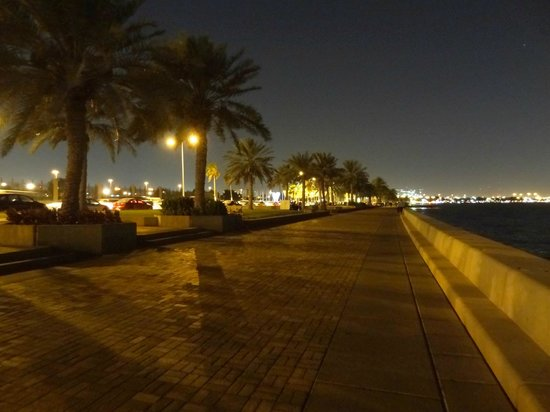 The Corniche - Night view