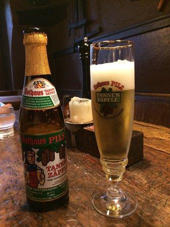 Schnitzelbank: The beer