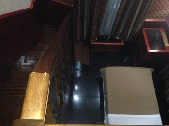 Hotel Galles : Вид со второго этажа