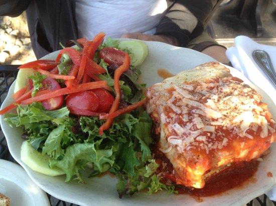 SeaGrass Restaurant: Eggplant Parm (Special)
