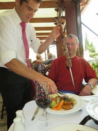 Restaurante O Tapassol Terrace: Lekkere Espetada