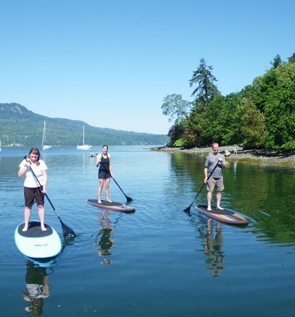 Pacifica Paddle Sports: stand up paddle boarding, Brentwood Bay, BC