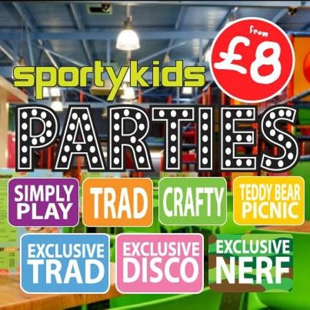 Sportykids Softplay: We hold amazing parties here