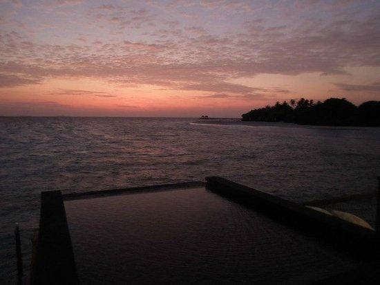 JA Manafaru: watching the sunset