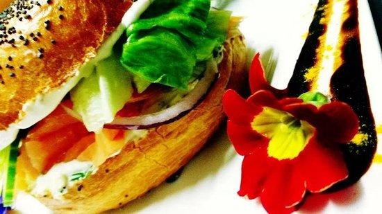 Bistrot Epice & Cafe : Le Baggel's au Saumon
