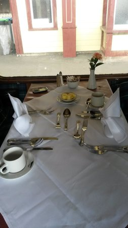 Strathspey Steam Railway: The table