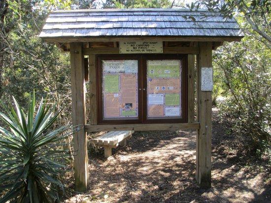 Springer's Point Preserve : Trailhead Signage