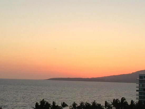 Dreams Villamagna Nuevo Vallarta : Beach View at Sunset