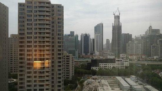 Jin Jiang Tower Hotel: 窗外景觀