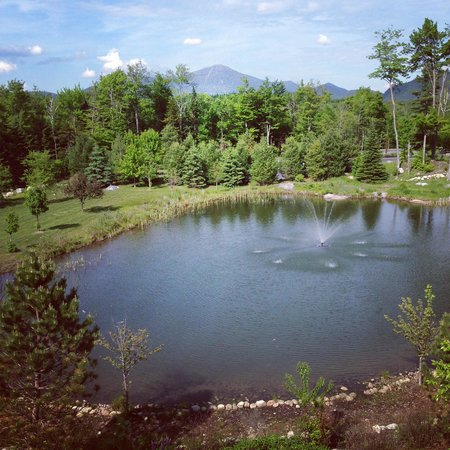 The Whiteface Lodge: view from every window facing Whiteface Mountain