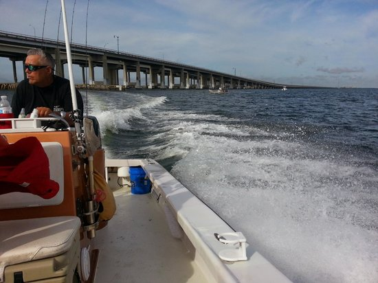 Tampa Flats and Bay Fishing Charters: Going out to fish