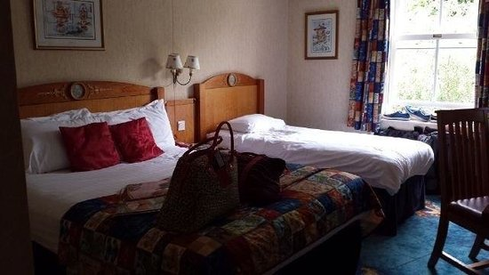 Alton Towers Hotel: Our room