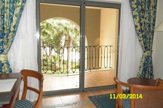 Hilton Malta: balcony