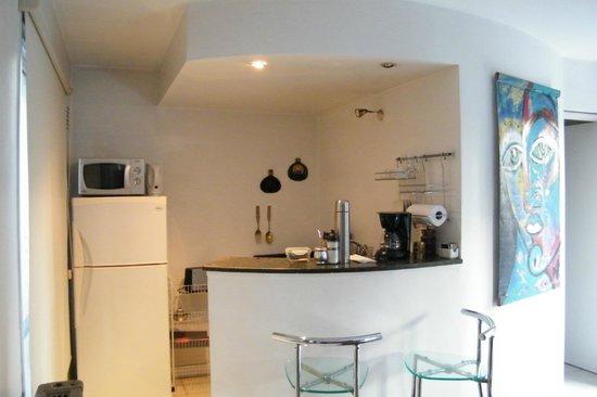Modigliani Art & Design Suites Mendoza: Mi habitacion......Otra vista