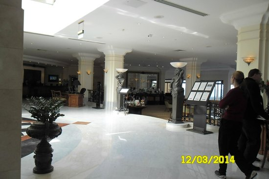 Hilton Malta: reception with free internet