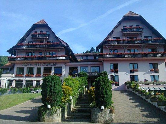 Hotel des Vosges : VUE DE L'HOTEL